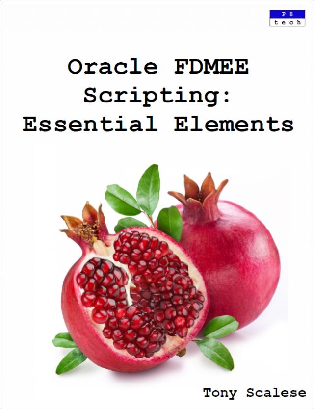 FDMEE Scripting