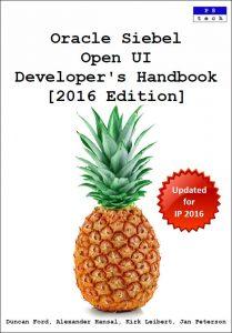 Oracle Siebel Open UI Developer's Handbook