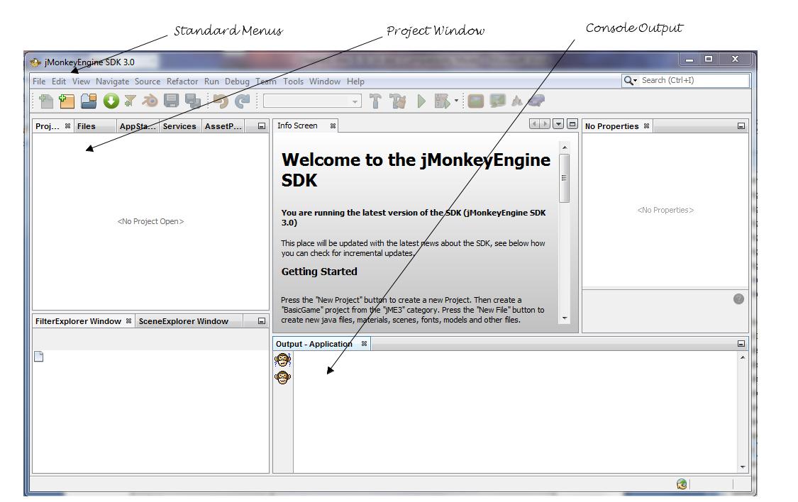 jMonkey Dev Environment